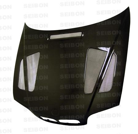 Bmw 3 Series E46 4dr 1999-2002 Er Style Carbon Fiber Hood