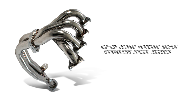 Acura Integra 1992-1993 RS/LS  Exhaust Headers