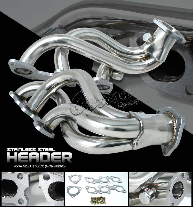 Nissan 300ZX 1990-1996 Non-Turbo  Exhaust Headers