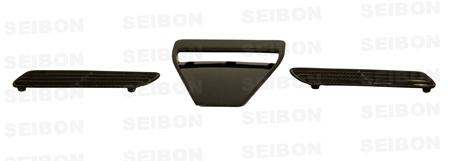 Mitsubishi Lancer Evo X 2008-2010 OEM Style Carbon Fiber Hood Scoop