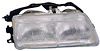 Honda Civic 90-91 2/3/4 Door Passenger Side Replacement Headlight
