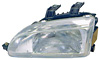 1992 Honda Civic  2/3/4 Door Passenger Side Replacement Headlight