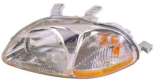 Honda Civic 96-98 Hatchback / Sedan Driver Side Replacement Headlight