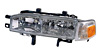 Honda Accord 90-91 Driver Side Replacement Headlight and Corner Light Combo