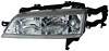 1996 Honda Accord  Driver Side Replacement Headlight
