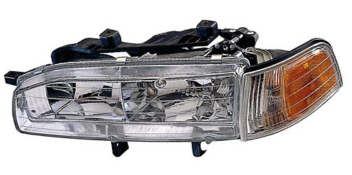 Honda Accord 92-93 Passenger Side Replacement Headlight and Corner Light Combo