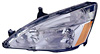 2004 Honda Accord  Driver Side Replacement Headlight