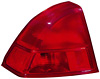 2001 Honda Civic Sedan  Driver Side Replacement Tail Light