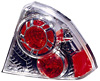 Honda Civic Sedan 01-05 Chrome Euro Tail Lights