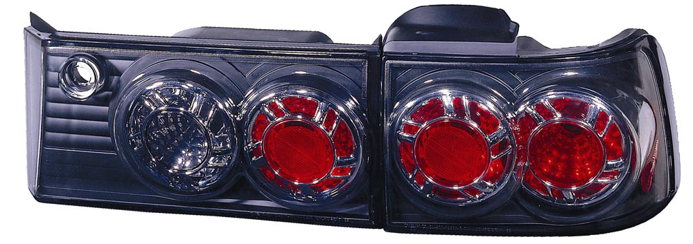 Honda Accord Coupe/Sedan 90-91 Black Tail Lights