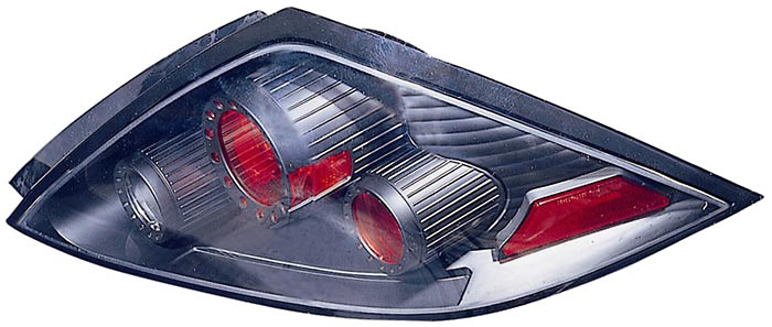 Honda Accord Coupe 03-05 Black Euro Tail Lights