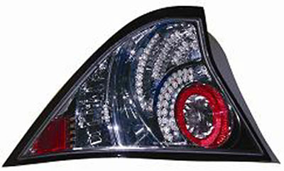 Honda Civic Coupe 01-05 Chrome LED Tail Lights