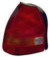 Honda Civic 96-98 Hatchback Passenger Side Replacement Tail Light