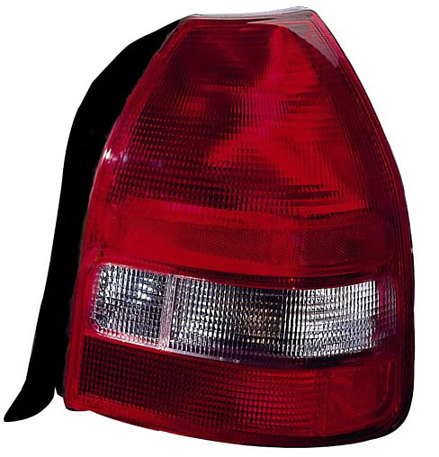 Honda Civic 99-00 Hatchback Passenger Side Replacement Tail Light
