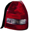 2000 Honda Civic  Hatchback Driver Side Replacement Tail Light