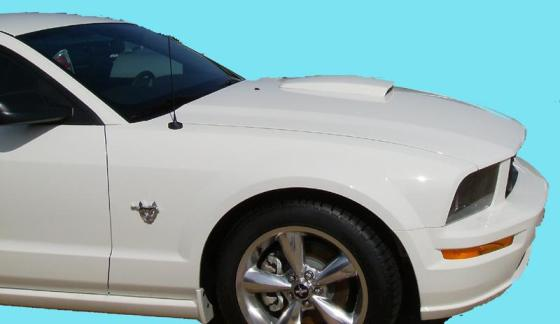 Ford Mustang Hood Scoop 2005-2009 Factory Style Painted