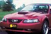 Ford Mustang Hood Scoop 01-03 - Primed
