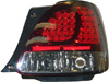 1999 Lexus GS300 Led Tail Lights  (Black)