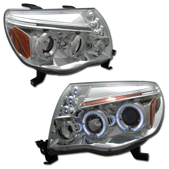 Toyota Tacoma 2005-2006 Projector Headlights (Chrome)