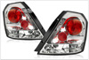 Chevrolet Aveo Chrome Euro Tail Lights 2006-07