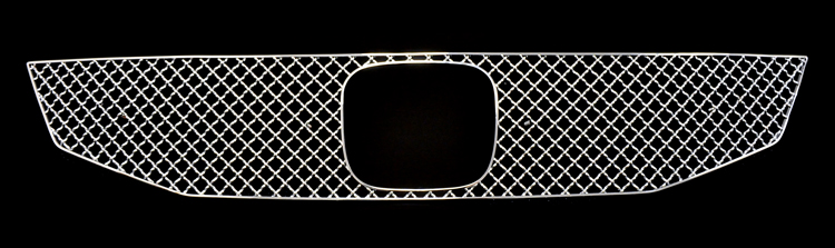 Honda Accord  2008-2010 Chrome Main Upper X Mesh Grille
