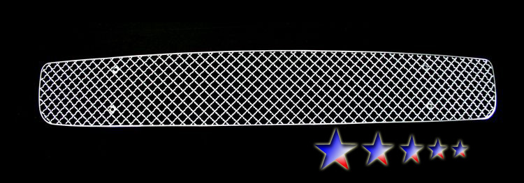 Honda Accord  2008-2010 Chrome Lower Bumper X Mesh Grille