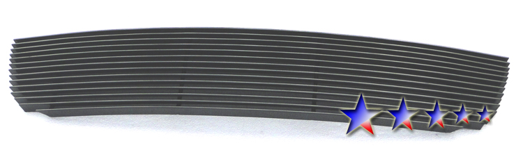 Suzuki Grand Vitara  2006-2012 Black Powder Coated Lower Bumper Black Aluminum Billet Grille