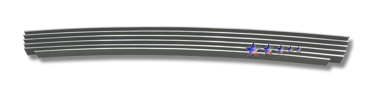 Subaru Forester  2006-2008 Polished Lower Bumper Aluminum Billet Grille