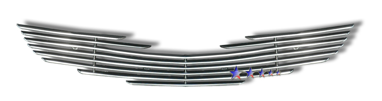 Subaru Impreza  2009-2011 Polished Main Upper Aluminum Billet Grille