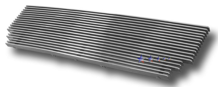 Isuzu Rodeo  1993-1997 Polished Main Upper Aluminum Billet Grille