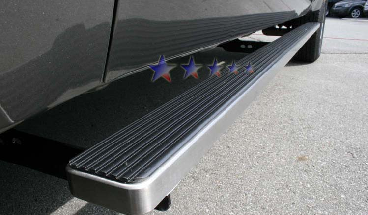 Chevrolet Silverado 2001-2012 3500 Crew Cab Aps Iboard Step Bars - Polish