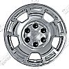 2009 Chevrolet Silverado   Chrome Wheel Covers, 5 Spoke (17&quot; Wheels)