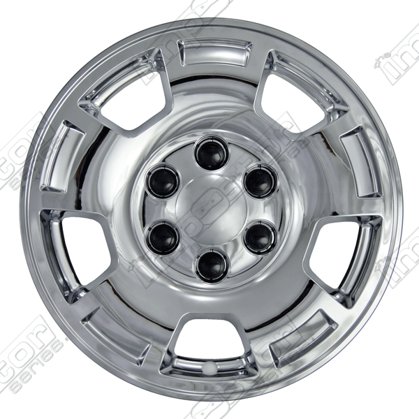 "Chevrolet Tahoe  2007-2013 Chrome Wheel Covers, 5 Spoke (17"" Wheels)"