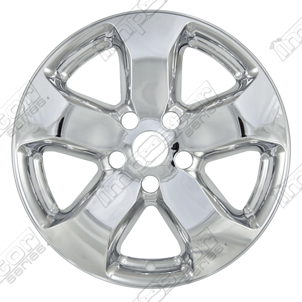 "Jeep Grand Cherokee  2011-2013 Chrome Wheel Covers, 5 Spoke (18"" Wheels)"