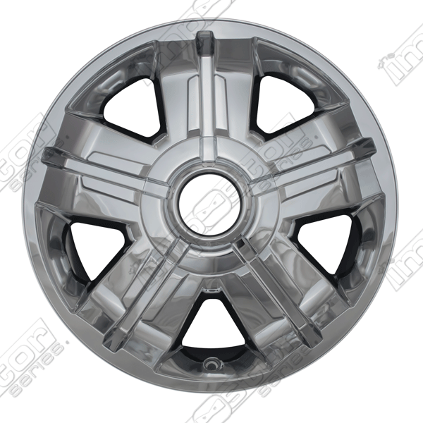 "Chevrolet Avalanche  2007-2013 Chrome Wheel Covers, 5 Spk 2-Tone C+s (18"" Wheels)"
