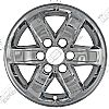 Gmc Sierra  2007-2013 Chrome Wheel Covers, 6 Spoke (17
