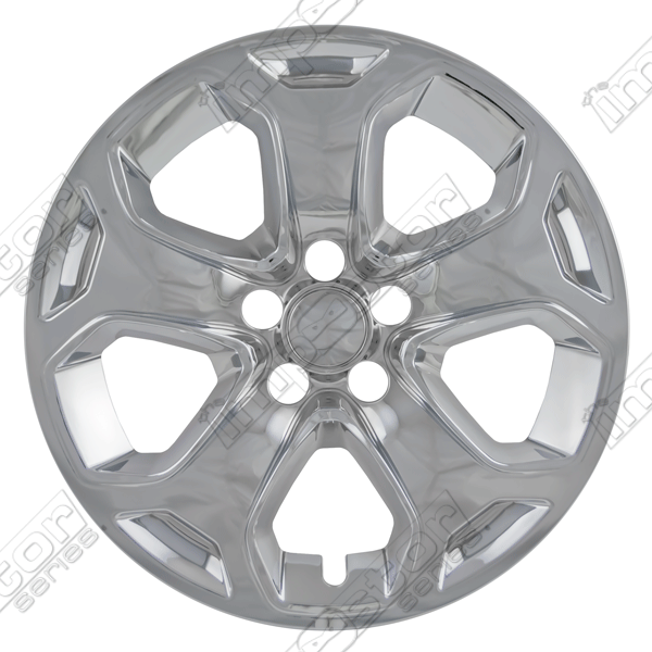 "Ford Edge  2011-2013 Chrome Wheel Covers, 5 Split Spoke (18"" Wheels)"