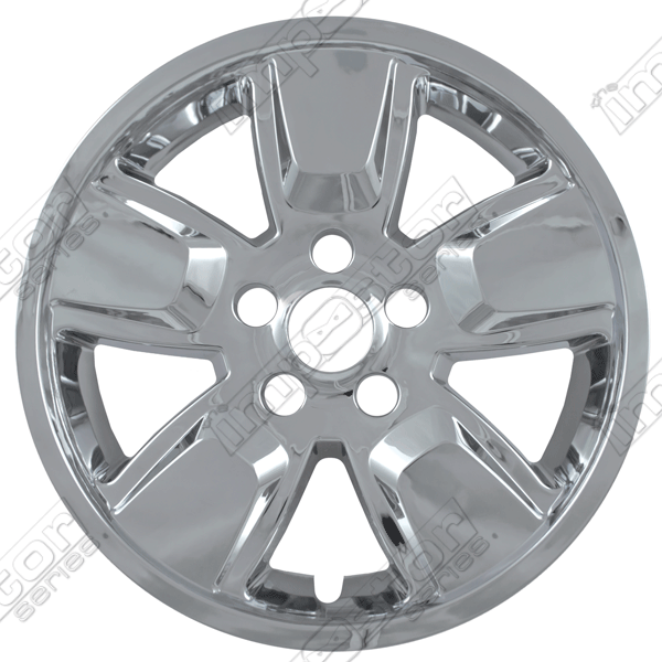 "Jeep Liberty  2008-2013 Chrome Wheel Covers, 5 Spoke (16"" Wheels)"