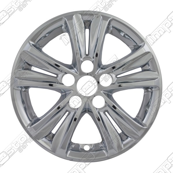 "Hyundai Sonata  2011-2013 Chrome Wheel Covers, 5 Split Spoke (16"" Wheels)"