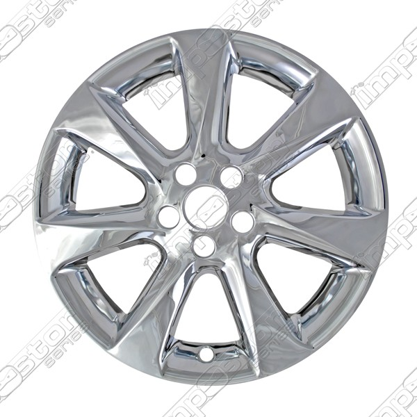 "Lexus RX350  2010-2012 Chrome Wheel Covers, 7 Spoke (19"" Wheels)"