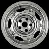 2003 Jeep Liberty  Chrome Wheel Covers, 5 Dimpled Spokes (16&quot; Wheels)
