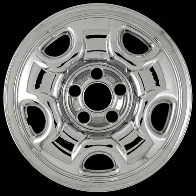 Honda Pilot 2003-2005 Chrome Wheel Covers, 5 Spokes (16