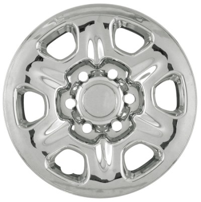 "Toyota 4Runner 2003-2006 Chrome Wheel Covers, 6 Rounded Triangles (16"" Wheels)"