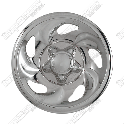 "Ford F150  1997-2003 Chrome Wheel Covers, 5 Directional Openings (16"" Wheels)"