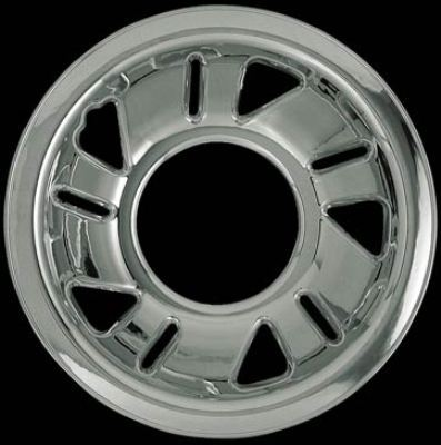Ford Ranger 1998-2001 Chrome Wheel Covers, 5 Triangle 5 Slots (15