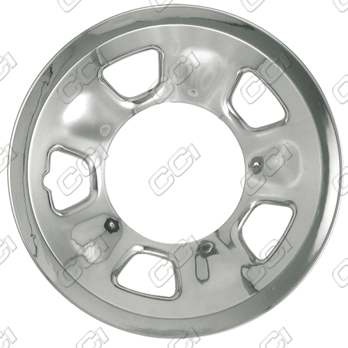 Chevrolet Astro 1996-2002 Chrome Wheel Covers, 5 Spoke With Triangle (15