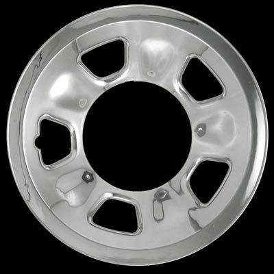 Gmc Safari 1996-2002 Chrome Wheel Covers, 5 Spoke With Triangle (15