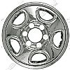 2002 Chevrolet Silverado   Chrome Wheel Covers, 5 Flat Spokes (16&quot; Wheels)