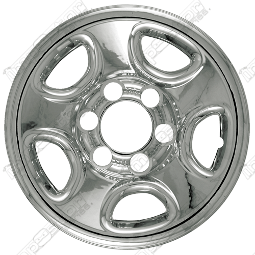 "Chevrolet Astro  2003-2008 Chrome Wheel Covers, 5 Flat Spokes (16"" Wheels)"
