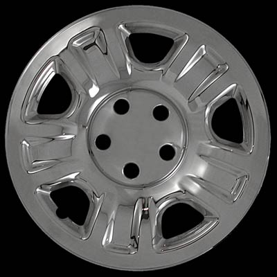 Toyota RAV4 1998-2000 Chrome Wheel Covers, 5 Dimpled Spokes (16